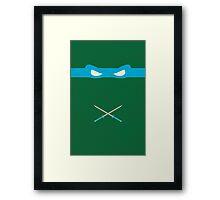 Blue Ninja Turtles Leonardo Framed Print