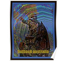 outback australia Poster