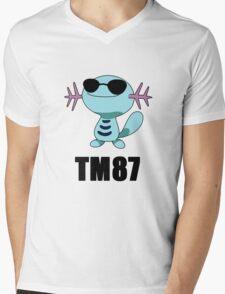 Wooper TM87 Mens V-Neck T-Shirt