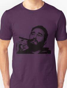 Young Fidel Castro Smoking Cigar Unisex T-Shirt