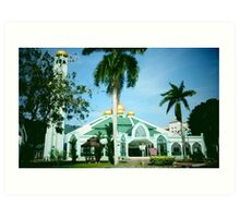 Masjid Al-Malik Khalid USM Art Print