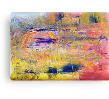 Fata Morgana - Mirage in the Desert Canvas Print