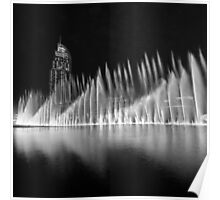 Fountains (Square Crop) Poster
