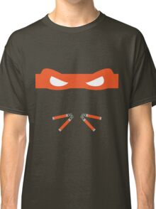 Orange Ninja Turtles Michelangelo Classic T-Shirt