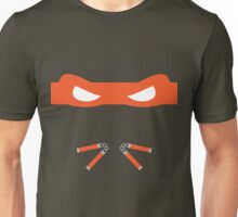 Orange Ninja Turtles Michelangelo Unisex T-Shirt