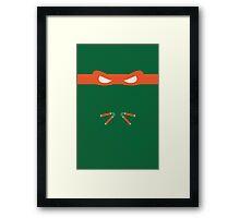 Orange Ninja Turtles Michelangelo Framed Print