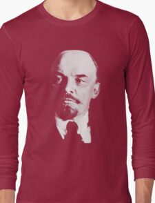 Vladimir Ilyich Lenin Classic White Portrait Shirt Long Sleeve T-Shirt