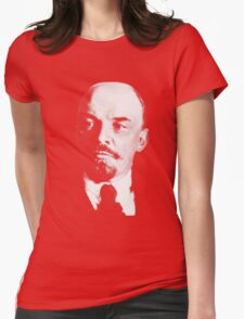 Vladimir Ilyich Lenin Classic White Portrait Shirt Womens Fitted T-Shirt
