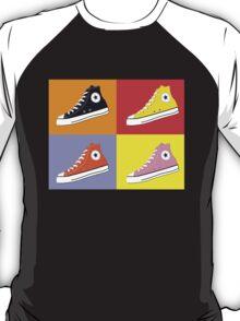 Pop Art All Star Inspired Hi Top Sneaker T-Shirt