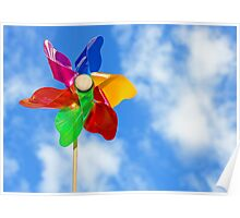 Summer Windmill Poster