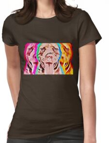 Pit Bull Pop Art Womens Fitted T-Shirt