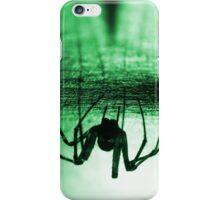 Spider green iPhone Case/Skin