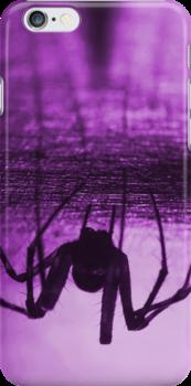 Spider purple by Mats Gustafsson