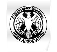 Hero Association Logo Poster