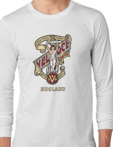 Classic British Motorcycle Emblem - Velocette Maiden Long Sleeve T-Shirt