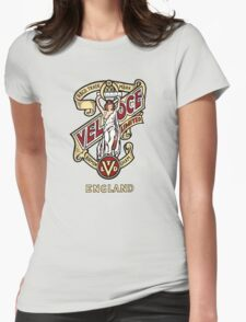 Classic British Motorcycle Emblem - Velocette Maiden Womens Fitted T-Shirt