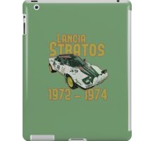 Vintage Look Lancia Stratos Retro Rally Car iPad Case/Skin