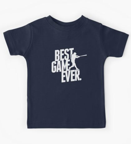 best game ever - baseball Kids Tee