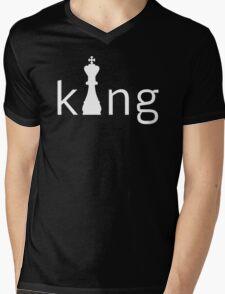King Chess Mens V-Neck T-Shirt