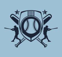 baseball player logo Kids Clothes
