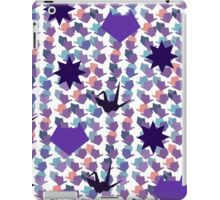 Said the crane to the fox iPad Case/Skin
