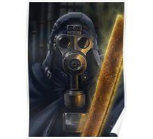 Steampunk Vader Poster