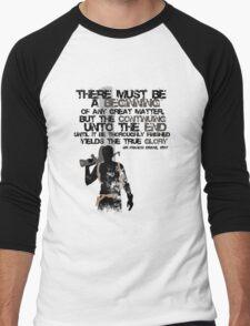 Sir Francis Drake Men's Baseball ¾ T-Shirt