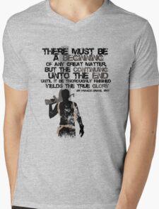 Sir Francis Drake Mens V-Neck T-Shirt