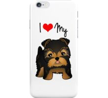 Cute Yorshire Terrier Puppy Dog iPhone Case/Skin