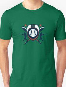 baseball player logo Unisex T-Shirt