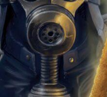 Steampunk Vader Sticker
