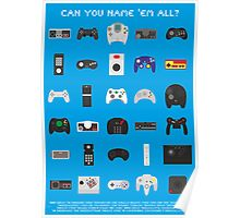 Can you name 'em all? Poster
