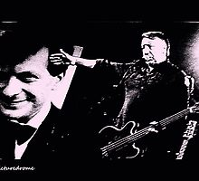Peter Hook (& Tony Wilson) by thepicturedrome