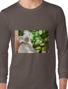 Koala by itself in a tree. Long Sleeve T-Shirt