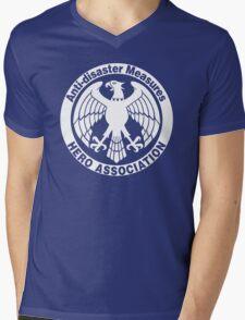 Hero Association Mens V-Neck T-Shirt