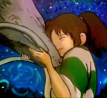 SPIRITED AWAY! by debzandbex