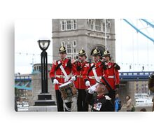 The Royal Anglian Regiment Band  Canvas Print