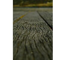 Jetty Wood Photographic Print