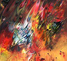 Birds on Fire by Goodaboom