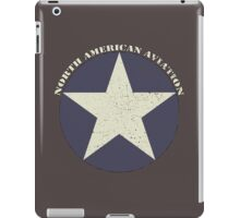 Vintage Look North American Aviation Graphic iPad Case/Skin