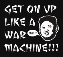 WAR MACHINE!!! by PodWithNoName