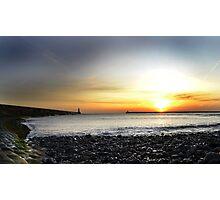 Tynemouth Sunrise Photographic Print