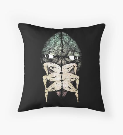 forget i ever told you i was kafka in a past life Throw Pillow