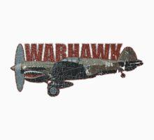 Vintage Look Curtis P-40 Warhawk Fighter Bomber Plane Kids Clothes