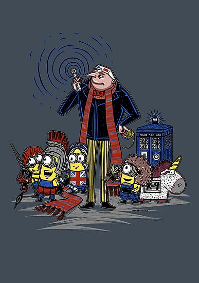 Doctor Gru by Onebluebird