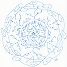 New Growth Mandala by Daniel ML
