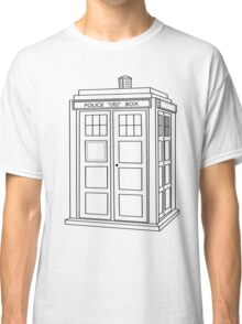 Timey Wimey Blue Box Classic T-Shirt