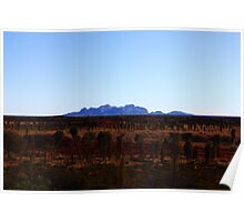 A little worn with time - Kata Tjuta Poster
