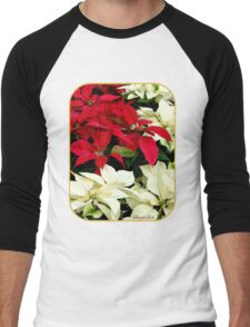 Poinsettias Sprinkled with Raindrops T-Shirt