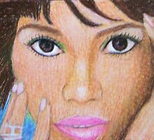 Halle Berry by Rhonda Rose